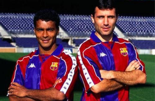 It was the presence of Romario and Stoichkov that made Barcelona a team to fear under Johan Cruyff