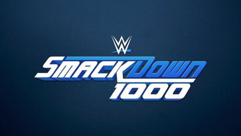 SmackDown celebrated the landmark of 1000 episodes