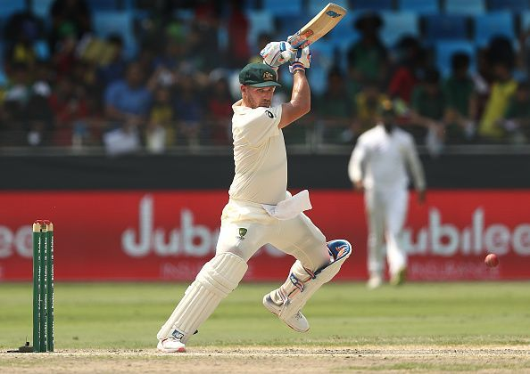 Finch did show a lot of character by batting despite carrying a painful finger injury