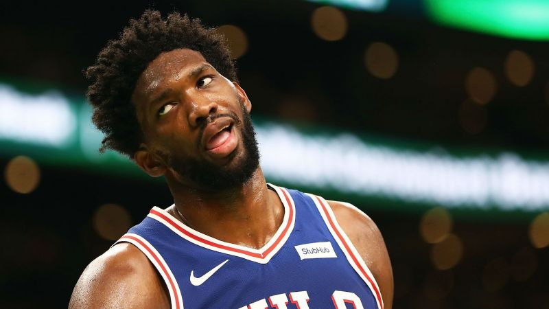 c0df6f8132305 Embiid  76ers-Celtics isn t a rivalry