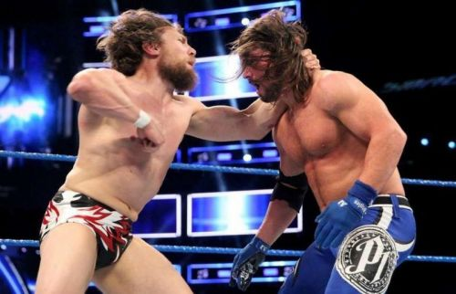 Daniel Bryan and AJ Styles are set to clash for the WWE Championship