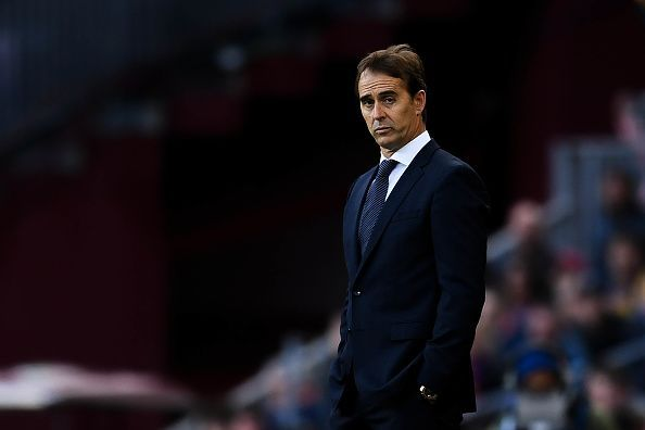 Lopetegui was sacked after Real