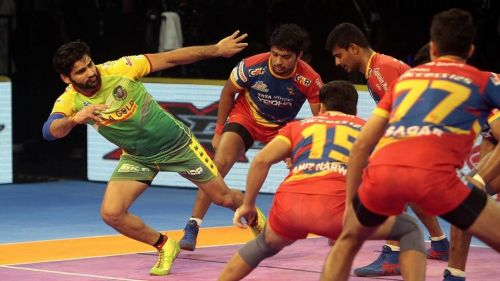 Pardeep Narwal scored another Super 10 tonight
