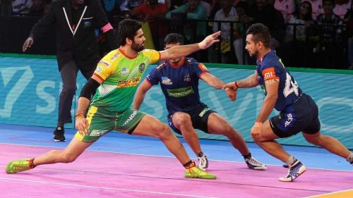 Pardeep Narwal scored his 700th raid point last night against Haryana Steelers