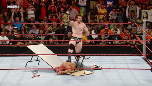 Sheamus became the first ever Irish born WWE Champion