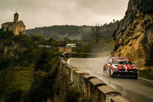 Polo GTI R5 in action - WRC Spain