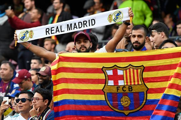 The El Clasico is the most anticipated game in Spain