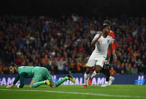 Raheem Sterling finally found his scoring boots after 3 goalless years for England