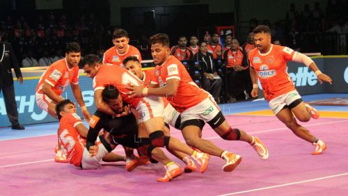 The Pune defence had a tough time dealing with Siddharth Desai