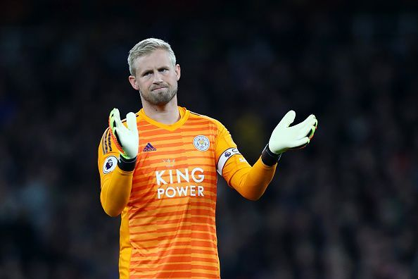 Schmeichel has been Leicester's number one since their promotion in 2014