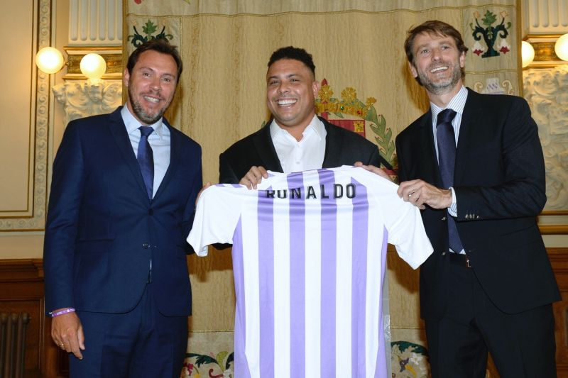 Valladolid currently play in the La Liga