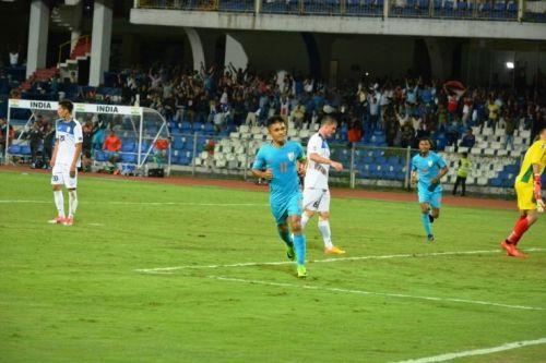 Bengaluru FC's Sunil Chhetri, the Indian national football team captain (Image: AIFF Media)