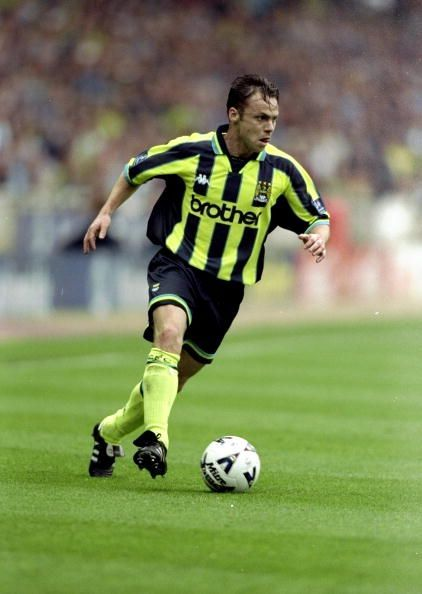 Paul Dickov joined Manchester City in August 1996