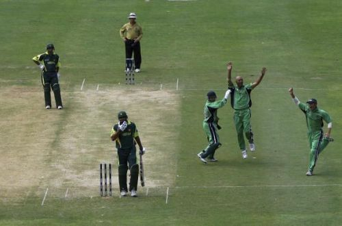 Group D, Ireland v Pakistan - Cricket World Cup 2007