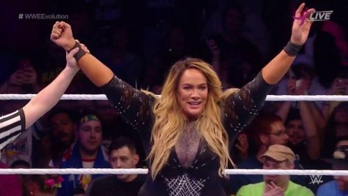 Nia Jax won the Battle Royal