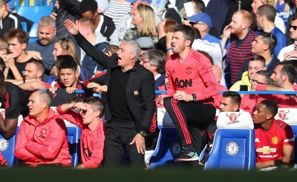 Jose Mourinho at Stamford Bridge
