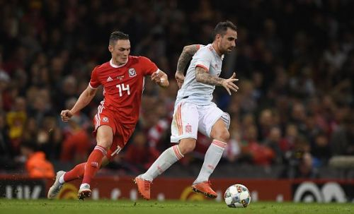 Spain were a level above Wales on Thursday night