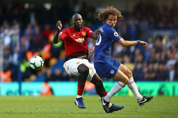 Lukaku is not having the best of seasons at Manchester United