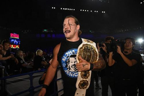 Jericho following his attack on Evil at KOPW