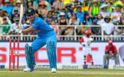 Mostly Dhoni has played at no. 6