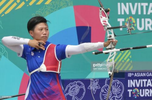 https://media.gettyimages.com/photos/lei-chienying-of-taiwan-releases-an-arrow-during-the-recurve-womens-picture-id918096496