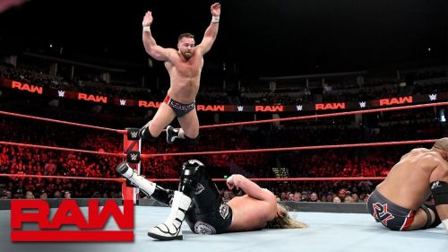 Image result for dolph ziggler and drew mcintyre vs the revival