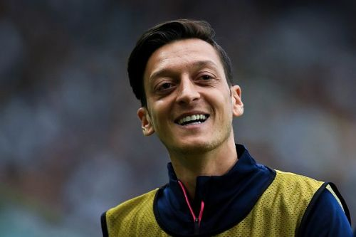 Ozil is in fine form