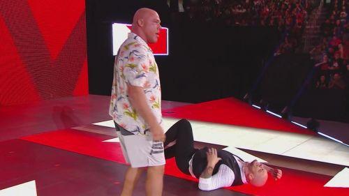 Kurt Angle seeks revenge on Baron Corbin