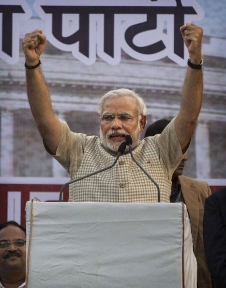 BJP's Narendra Modi becomes India's Prime Minister with a landslide victory