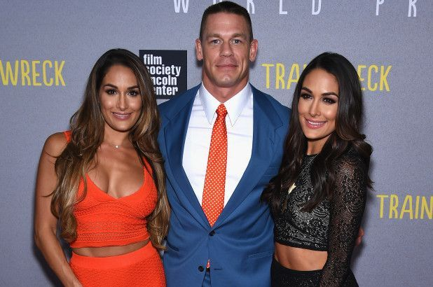 The Bellas and Cena are some of the richest WWE superstars