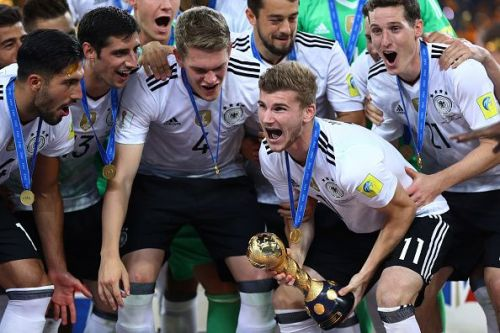 Germany lifted the FIFA Confederations Cup Russia 2017 with very young players