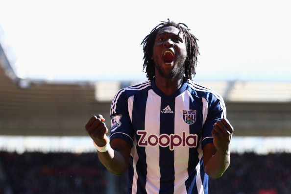 Lukaku scored a hat-trick as a substitute against Manchester United as a West Brom player.
