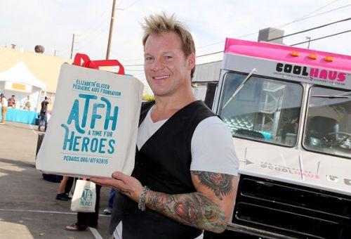 Chris Jericho at an Elizabeth Glaser Pediatric AIDS Foundation event