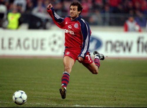 Mehmet Scholl of Bayern Munich