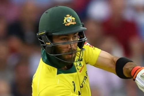 Glenn Maxwell was sole performer for the Aussies in second T20I