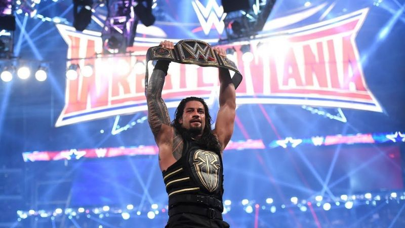 Reigns stepping away from the ring to battle Leukemia for the second time