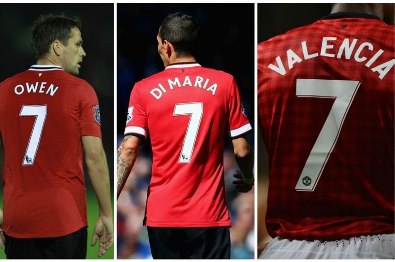 9385654a6 Manchester United  The curse of the no.7 shirt