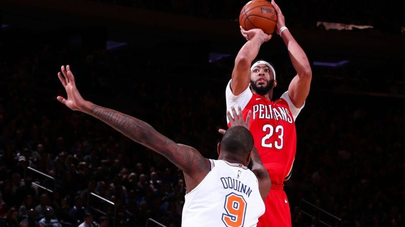 Anthony Davis scored 48 points at MSG to lift Pelicans past Knicks in OT