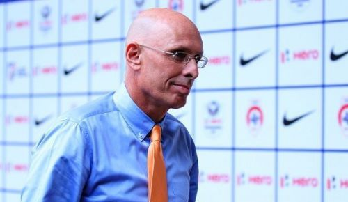 Stephen Constantine, the Indian national football team coach (Image: AIFF Media)