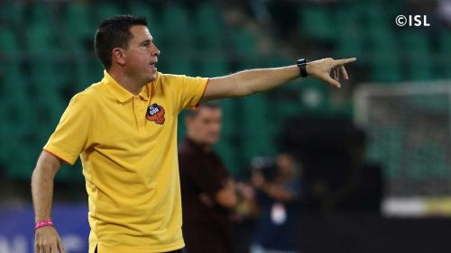 Sergio Lobera is happy about earning four points from two tough away games [Image: Indian Super League]