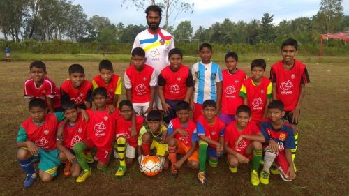 Young Gaurs at the Goa Foundation Inter-Center League