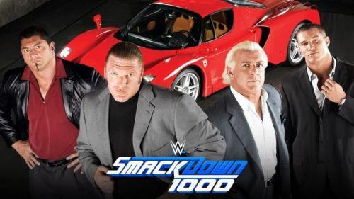 Evolution to reunite at Smackdown 1000