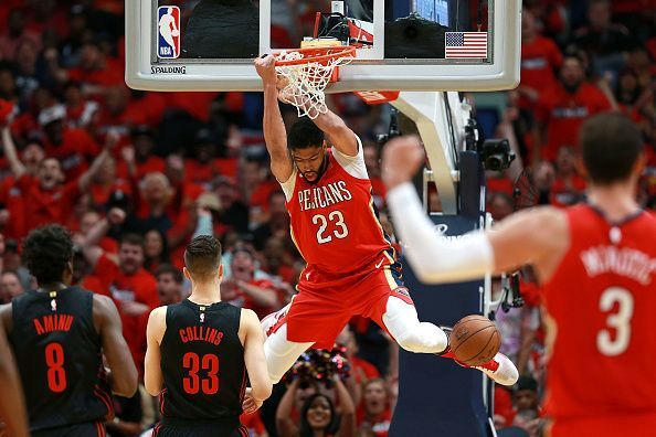 Anthony Davis is a serious candidate for MVP this season