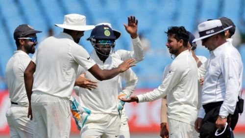 Image result for India vs West Indies at Rajkot win