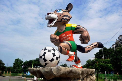 Kheleo making moves outside Indira Gandhi Athletic Stadium in Guwahati, Assam.
