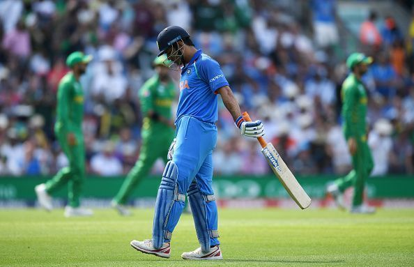 Dhoni's form with the bat seems to have fallen into an abyss of late