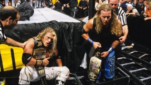 Pioneering the ladder match, Edge and Christian are an indelible part of the Tag Team Division