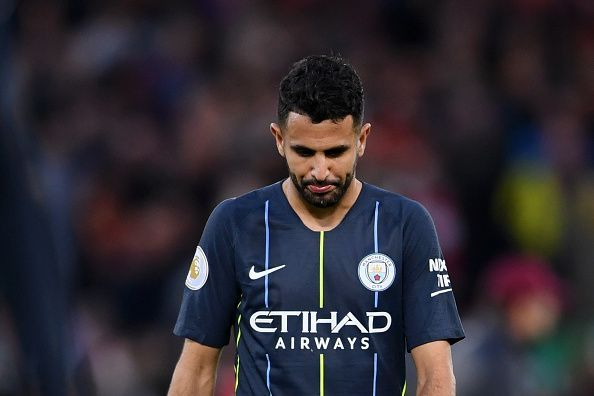 Mahrez missed from the spot in the dying embers of the game