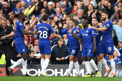 Chelsea will be looking to continue their superb start to the season