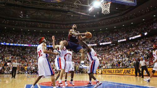 The Jordan-esque game winner